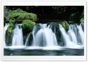 Waterfall, Japan HD Wide Wallpaper for 4K UHD Widescreen desktop & smartphone