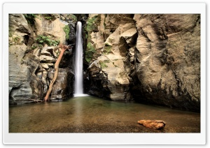 Waterfall Long Exposure HD Wide Wallpaper for Widescreen