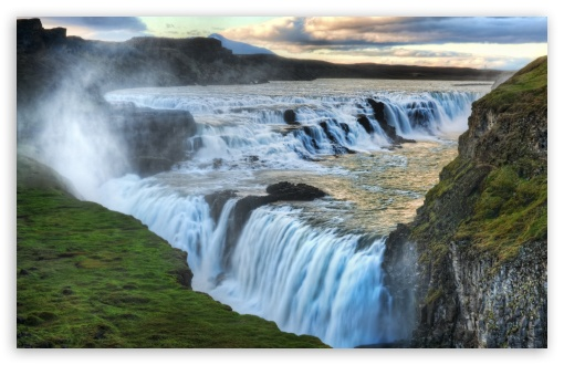 Waterfall Of Gullfoss HD wallpaper for Wide 16:10 5:3 Widescreen WHXGA WQXGA WUXGA WXGA WGA ; HD 16:9 High Definition WQHD QWXGA 1080p 900p 720p QHD nHD ; UHD 16:9 WQHD QWXGA 1080p 900p 720p QHD nHD ; Standard 4:3 5:4 3:2 Fullscreen UXGA XGA SVGA QSXGA SXGA DVGA HVGA HQVGA devices ( Apple PowerBook G4 iPhone 4 3G 3GS iPod Touch ) ; Tablet 1:1 ; iPad 1/2/Mini ; Mobile 4:3 5:3 3:2 16:9 5:4 - UXGA XGA SVGA WGA DVGA HVGA HQVGA devices ( Apple PowerBook G4 iPhone 4 3G 3GS iPod Touch ) WQHD QWXGA 1080p 900p 720p QHD nHD QSXGA SXGA ;