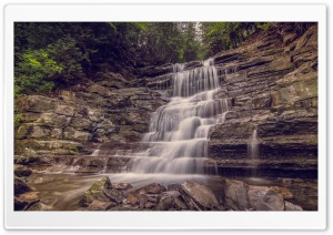 Waterfall, Ottawa, Ontario, Canada HD Wide Wallpaper for Widescreen