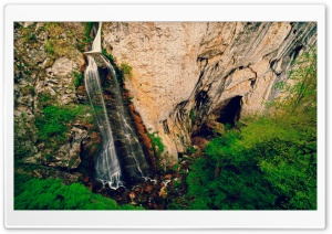 Waterfall, Vanatarile Ponorului, Travel, Romania HD Wide Wallpaper for 4K UHD Widescreen desktop & smartphone