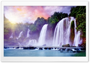 Waterfalls HD Wide Wallpaper for Widescreen