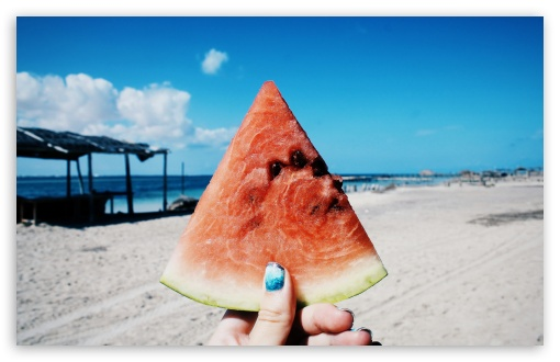 Watermelon HD wallpaper for Wide 16:10 Widescreen WHXGA WQXGA WUXGA WXGA ;