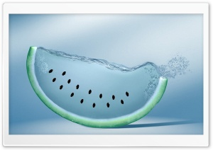 Watermelon Slice HD Wide Wallpaper for Widescreen