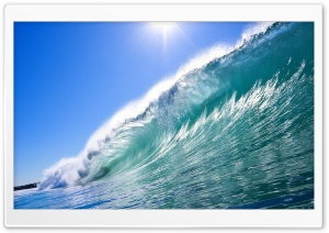 Wave HD Wide Wallpaper for Widescreen