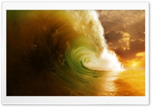 Wave HD Wide Wallpaper for 4K UHD Widescreen desktop & smartphone