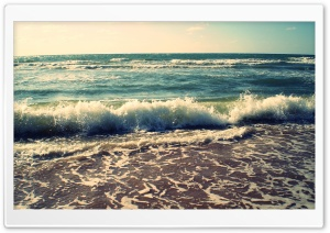 Waves HD Wide Wallpaper for Widescreen