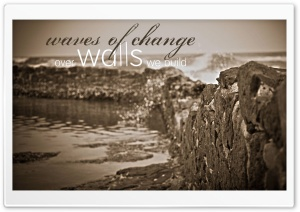 Waves of Change HD Wide Wallpaper for 4K UHD Widescreen desktop & smartphone