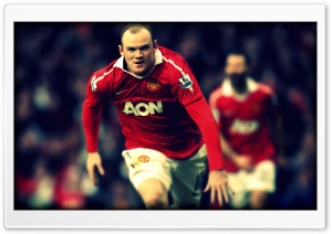 Wayne Rooney HD Wide Wallpaper for Widescreen
