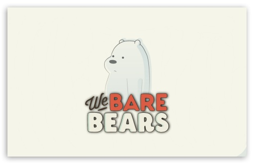 We Bare Bears Ultra Hd Desktop Background Wallpaper For 4k