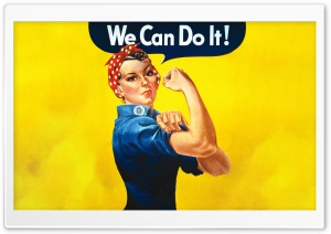 We can Do it HD Wide Wallpaper for Widescreen