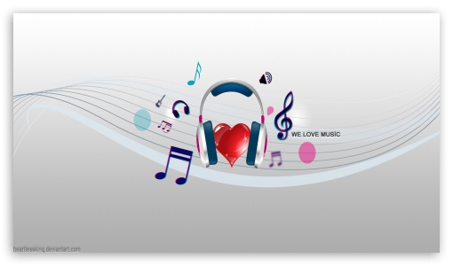 WE LOVE MUSIC HD wallpaper for HD 16:9 High Definition WQHD QWXGA 1080p 900p 720p QHD nHD ; Mobile 16:9 - WQHD QWXGA 1080p 900p 720p QHD nHD ;