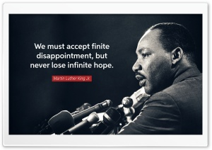 We must never lose infinite hope HD Wide Wallpaper for 4K UHD Widescreen desktop & smartphone