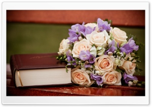 Wedding Bouquet HD Wide Wallpaper for 4K UHD Widescreen desktop & smartphone
