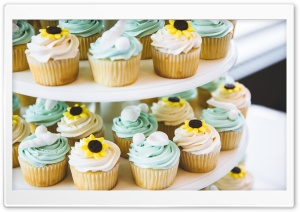 Wedding Cupcakes HD Wide Wallpaper for 4K UHD Widescreen desktop & smartphone