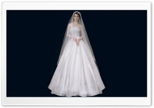 Wedding Dress Bride Ultra HD Wallpaper for 4K UHD Widescreen desktop, tablet & smartphone