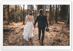 Wedding Woods HD Wide Wallpaper for 4K UHD Widescreen desktop & smartphone