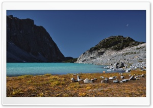 Wedgemount Lake, Garibaldi Provincial Park, British Columbia HD Wide Wallpaper for Widescreen