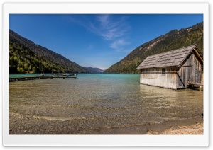 Weissensee, Lake in Austria HD Wide Wallpaper for Widescreen