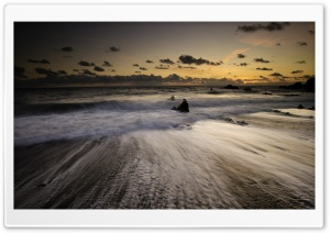 Welcombe Mouth Beach, Devon Ultra HD Wallpaper for 4K UHD Widescreen desktop, tablet & smartphone