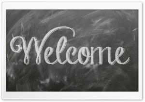 Welcome HD Wide Wallpaper for Widescreen