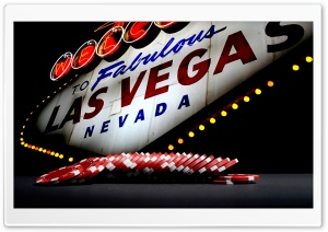 Welcome Las Vegas HD Wide Wallpaper for Widescreen