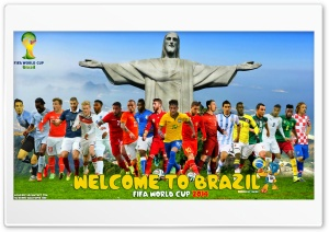 WELCOME TO BRAZIL Ultra HD Wallpaper for 4K UHD Widescreen desktop, tablet & smartphone