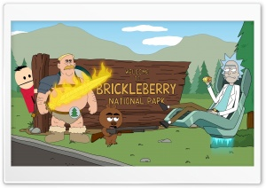 Welcome to Brickleberry and Rick Ultra HD Wallpaper for 4K UHD Widescreen desktop, tablet & smartphone