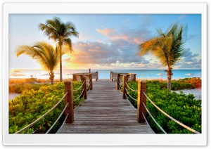 Welcome To The Beach HD Wide Wallpaper for Widescreen