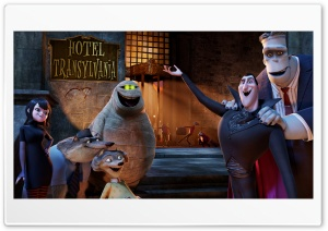 Welcome to the Hotel Transylvania HD Wide Wallpaper for Widescreen