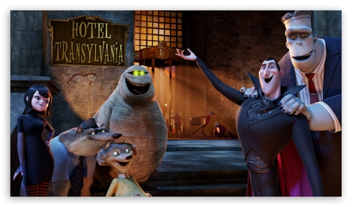Welcome to the Hotel Transylvania ❤ 4K UHD Wallpaper for 4K UHD 16:9 Ultra High Definition 2160p 1440p 1080p 900p 720p ; Mobile 5:3 3:2 16:9 - WGA DVGA HVGA HQVGA ( Apple PowerBook G4 iPhone 4 3G 3GS iPod Touch ) 2160p 1440p 1080p 900p 720p ;