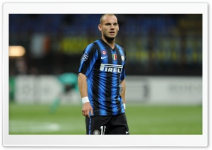 Wesley Sneijder HD Wide Wallpaper for Widescreen