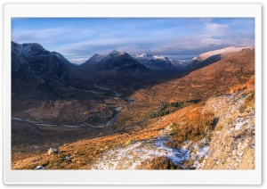 West Highlands Of Scotland HD Wide Wallpaper for Widescreen