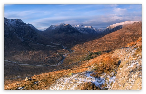 West Highlands Of Scotland Ultra Hd Desktop Background