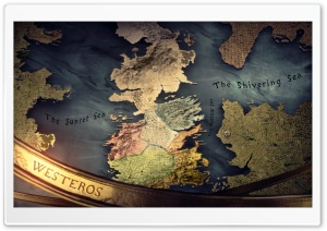 Westeros Map HD Wide Wallpaper for Widescreen