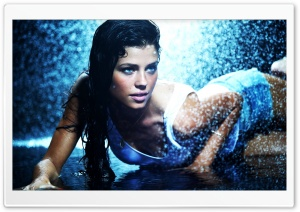 Wet Girl HD Wide Wallpaper for Widescreen