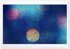Wet Glass HD Wide Wallpaper for Widescreen