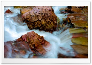Wet Rocks HD Wide Wallpaper for Widescreen