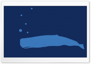 Whale Underwater Cartoon HD Wide Wallpaper for Widescreen