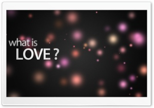 What Is Love HD Wide Wallpaper for Widescreen