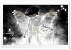 White Angel HD Wide Wallpaper for Widescreen