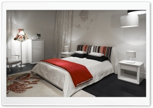 White Bedroom HD Wide Wallpaper for Widescreen