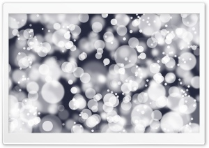 White Bokeh HD Wide Wallpaper for Widescreen