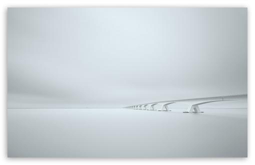 Download White Bridge HD Wallpaper