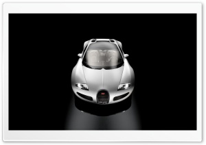 White Bugatti Grand Sport HD Wide Wallpaper for Widescreen