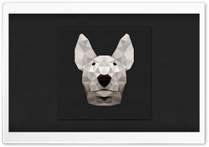 White BullTerrier HD Wide Wallpaper for Widescreen