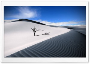 White Desert HD Wide Wallpaper for 4K UHD Widescreen desktop & smartphone