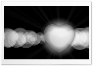 White Hearts HD Wide Wallpaper for Widescreen