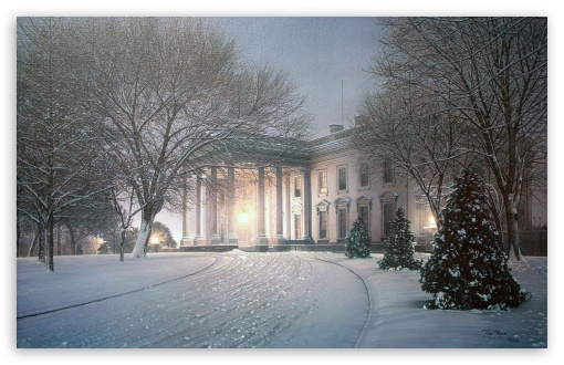 White House Winter Painting HD wallpaper for Wide 16:10 5:3 Widescreen WHXGA WQXGA WUXGA WXGA WGA ; HD 16:9 High Definition WQHD QWXGA 1080p 900p 720p QHD nHD ; Standard 4:3 5:4 3:2 Fullscreen UXGA XGA SVGA QSXGA SXGA DVGA HVGA HQVGA devices ( Apple PowerBook G4 iPhone 4 3G 3GS iPod Touch ) ; Tablet 1:1 ; iPad 1/2/Mini ; Mobile 4:3 5:3 3:2 16:9 5:4 - UXGA XGA SVGA WGA DVGA HVGA HQVGA devices ( Apple PowerBook G4 iPhone 4 3G 3GS iPod Touch ) WQHD QWXGA 1080p 900p 720p QHD nHD QSXGA SXGA ; Dual 4:3 UXGA XGA SVGA ;