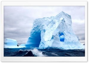 White Iceberg HD Wide Wallpaper for Widescreen
